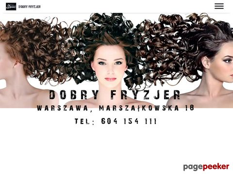 Fryzjer Warszawa. Usługi fryzjerskie, salon fryzjerski